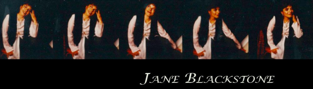 Jane Blackstone's Blog