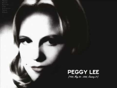 Jane Blackstone's Tribute to Peggy Lee